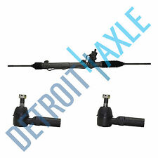 Power Steering Rack and Pinion Assembly +2 New Outer Tie Rod for Camaro Firebird