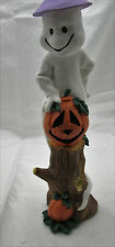 Ghost 2-IN-1 Pencil Candlestick Halloween Decoration 19421 *NEW*