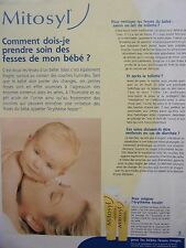 publicité de presse   CREME   MITOSYL    en  1999 ref. 33004