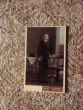 Kabinettfoto CDV, Fotograf Heinrich Schmorrde Herrnhut 1914