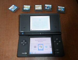 Nintendo DSi Black With 5 games lego bundle