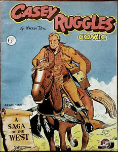 Casey Ruggles Comic by Warren Tufts Vol. 1, No. 1 Dependable Publications 1951
