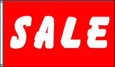 Sale Flag 3' x 5' Red Banner Sign Wholesale Lot of 10 (rwF)