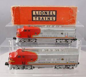 Lionel 2333 Vintage O Santa Fe F3 AA Diesel Locomotive Set/Box