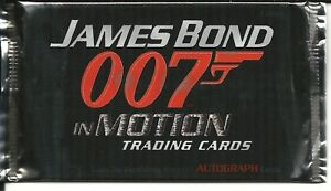 James Bond in Motion six sealed hobby packs by Rittenhouse - 2008