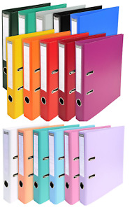 Exacompta A4 Lever Arch Files 80MM Prem'Touch PP Maxi Extra Wide - Select Colour