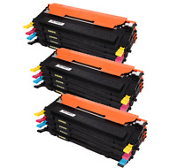 12 PACK CLT-K407S 3 Sets Toner For Samsung CLX-3180 CLP-320 CLP-325W CLX-3185N