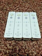 Lot of 4 3 2 1 OEM Nintendo Wii Remote WiiMote Original Official Controller WiiU