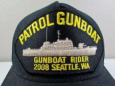 US Navy Patrol Gunboat Rider 2008 Seattle Adjustable Snapback Baseball Cap Hat