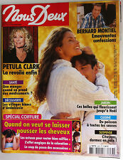 Photoromans NOUS DEUX 14/10/2003; Interview Petula Clark/ Bernard Montiel