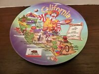McDonalds California Melmac Plate Ronald McDonald Souvenir Great Landmarks