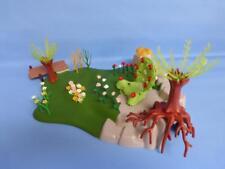 Playmobil Fairy Garden Avec trône Fleurs & Plus Fantasy scenery