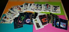 '90-'91 Panini Hockey Sticker Set RARE (211 Cards) out of 344 card set