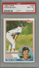 1983 Topps Wade Boggs PSA 8 RC                     #2