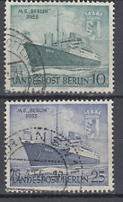 Berlin 1955 Mi. Nr. 126-127 Gestempelt LUXUS!!!