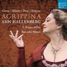ANN/IL POMO D'ORO HALLENBERG - AGRIPPINA-OPERA ARIAS  CD NEUF GRAUN/HÄNDEL