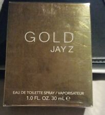 GOLD JAY Z FOR MEN 1.0 FL oz / 30 ML EDT Spray Sealed Box