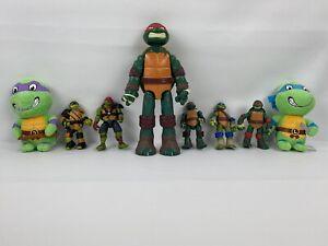 TMNT Teenage Mutant Ninja Turtle Lot Of 8