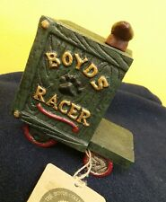 Boyds Collection Cast Iron Boyds Racer Vintage Handcrafted Collectible