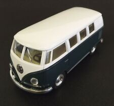 Collectible Die Cast GREEN 1962 Volkswagen Classic Bus VW 1:32 Scale Kinsmart