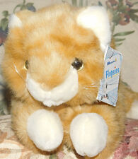 Aurora Flopsies Collection Tangerine 06132 Plush Stuffed Cat Kitten Orange Toy