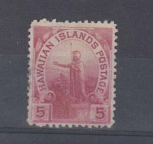 Hawaii 1894 5c Islands Postage MLH JK3619