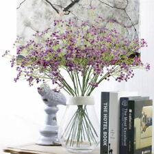 Beauty Artificial Fake Silk Flowers Gypsophila Home Party Wedding Bouquet Decor