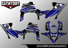 FOR YAMAHA YFZ 450 2014-2017 RAPTOR  FULL GRAPHICS KIT DECALS  STICKERS ATV QUAD