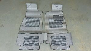 Series Carpets Rubber 3 Pcs - Car Mats Valentini Lancia beta Coupe '