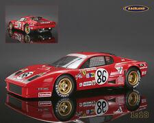 Ferrari 365 gt4/bb 16 ° 24h le mans 1978 migault/guitteny, Tecnomodel 1:18 modelo