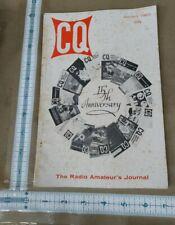 CQ The Radio Amateur's Journal Vol. 16/No.1 January 1960 Ham Radio Magazine