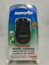 DIGIPOWER CANON SLR BATTERY TRAVEL CHARGER, DSLR-500C,  LP-E8,LP-E6,LP-E5,NP-2L