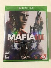 Mafia III 3 (Microsoft Xbox One, 2016)*Brand New*