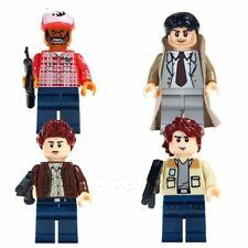 SUPERNATURAL LEGO MINIFIGURE COMPATIBLE SET SAM & DEAN WINCHESTER CASTIEL BOBBY