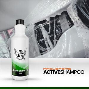 RR Customs Active Car Shampoo 1L Care Detailing Valeting Citrus Subacidic pH