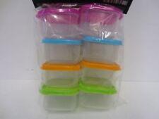 Envases de plástico de cocina de cocina de plástico de color principal multicolor