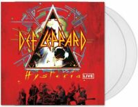 Def Leppard – Hysteria Live 2LP Vinyl Clear NEW!