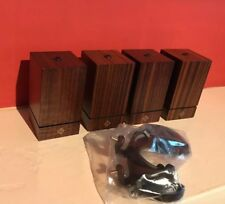 4 New PATEK PHILIPPE GENEVE Wooden DISPLAY STAND's Genuine. Watch