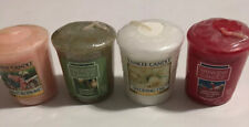 Lot Of 4Yankee Candle  Market Blossom Day Break  Orange Green White Red  NEW