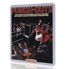 Metal Sign Punch Out Poster Arcade Nintendo Video Game Retro Decor Vintage Art