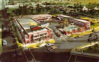 Postcard Albert Pick Motel in Montgomery, Alabama~128958