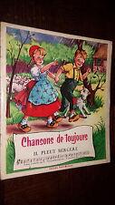 CHANSONS DE TOUJOURS - Il pleut bergère - Ill. J. Lagarde