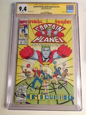CGC 9.4 SS Captain Planet and the Planeteers #12 signed by Meg Ryan not 9.8