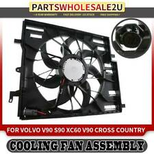 VO3112101 OE Style Radiator Cooling Fan Shroud Assembly for Volvo 940 960 S90 V90 92-98