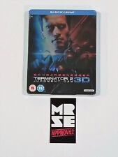 Terminator 2 Judgment Day 3D Blu-ray Steelbook Edition (UK) Region B New Sealed