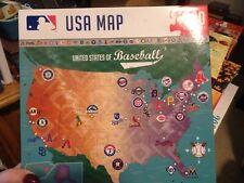 MasterPieces 500 Pc United States of Baseball Jigsaw Puzzle  Baseball Map NIB