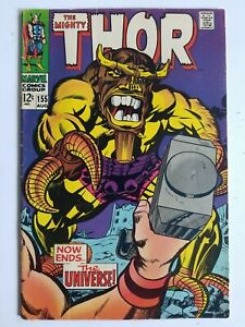 Thor (1966) #155 - Very Good