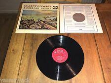 AMERICAN SCENE - MANTOVANI & HIS ORCHESTRA - DECCA - LK 4323 - MONO - 1959