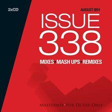 Mastermix Issue 338 Twin DJ CD Set Mixes Inc This Is...1990! Mix Remixes