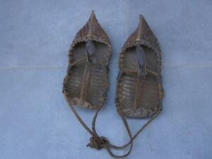 ANTIQUE VINTAGE LEATHER SHOES CHARLES